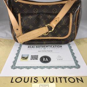 Authentic Louis Vuitton Tikal Monogram GM